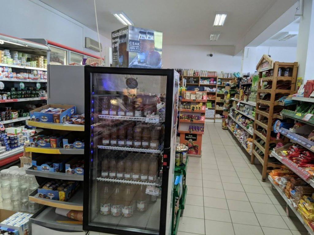 Legjava termékek a bordányi CBA üzletben